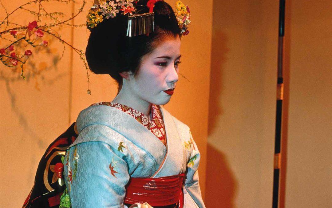 Les apprenties geishas de Kyoto